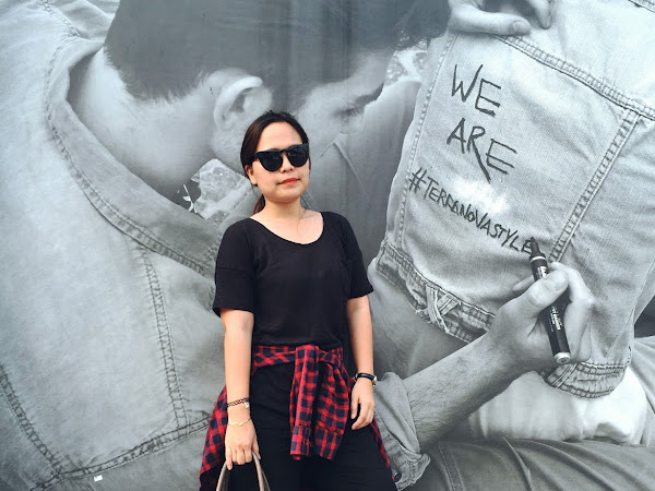 Outfit Diary : Basically black   What to wear on hot travel day