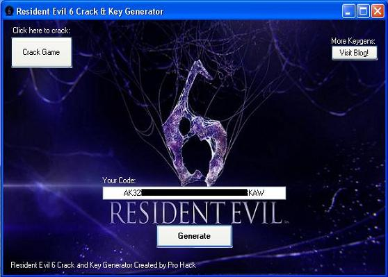 resident evil 6 with crack