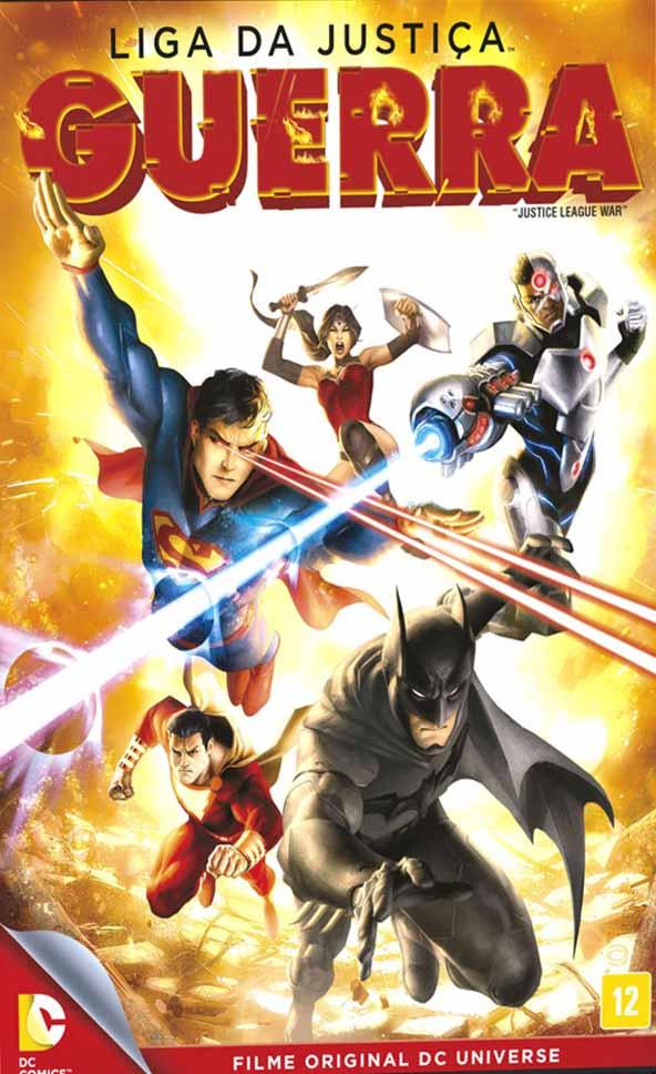 Liga da Justiça: Guerra Torrent - Blu-ray Rip 720p e 1080p Dual Áudio (2014)
