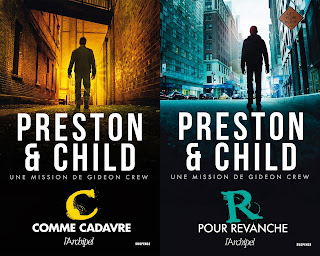 22 romans de Preston et child