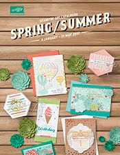 Stampin' Up! 2017 Spring catalogue