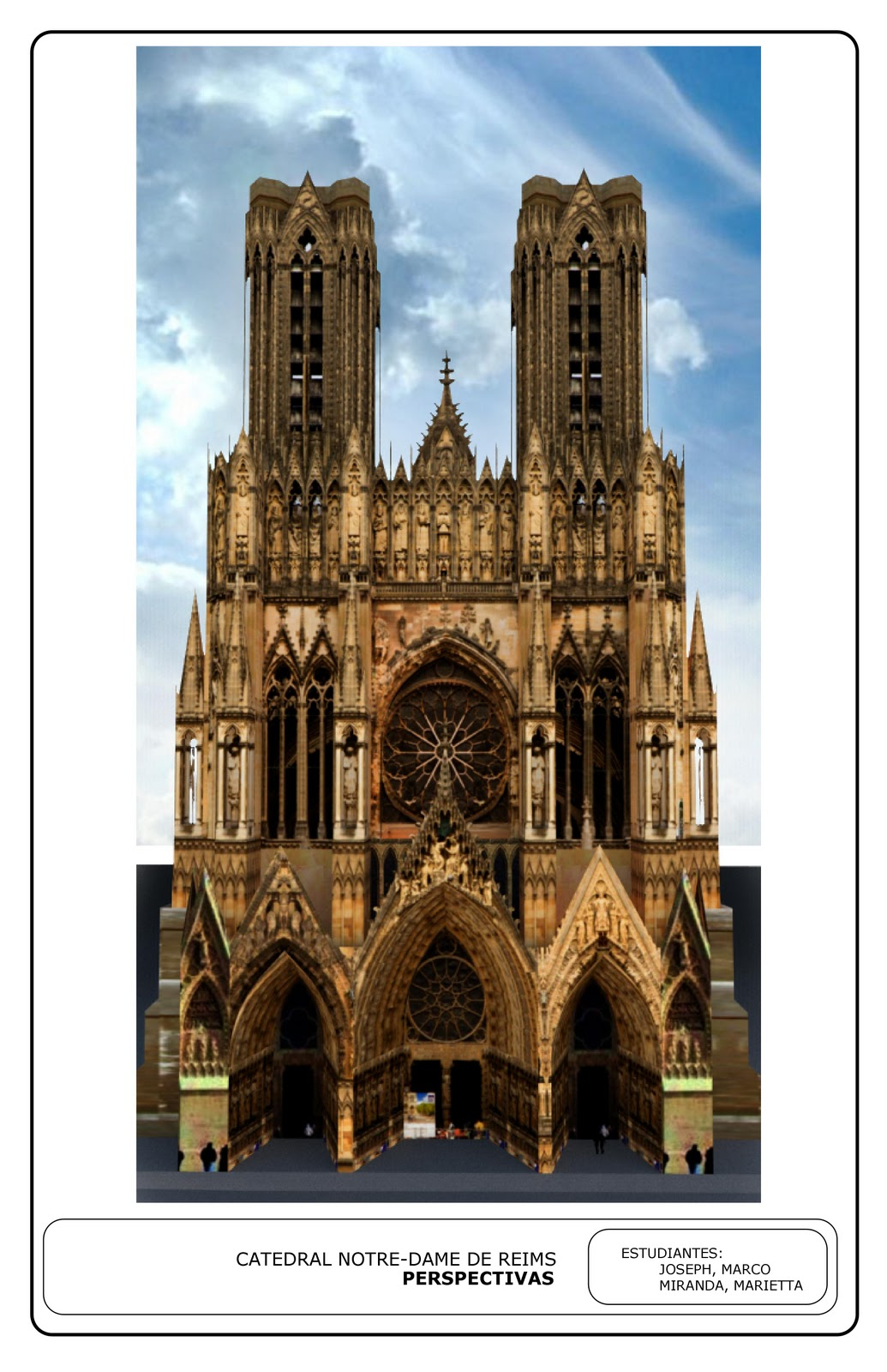 Historia de la Arquitectura I UP: marco joseph (catedral de notre ...