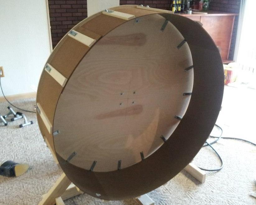 Stitches n' Sews: Home Made Cat Wheel