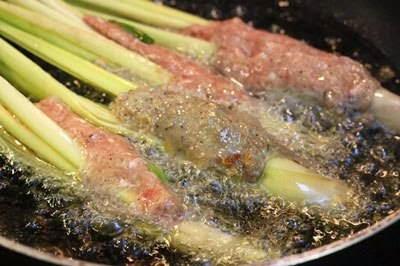 Fried Pork Meat with Lemongrass Rolls - Heo Chiên Bọc Xả
