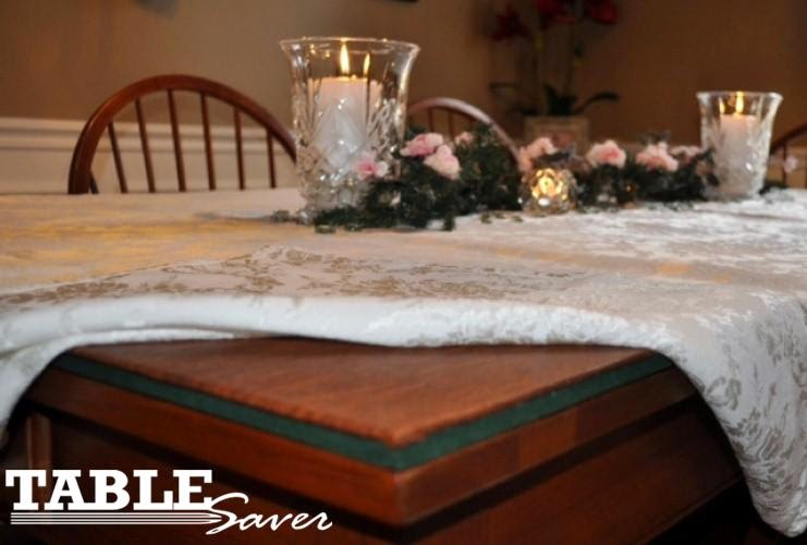Table Saver Custom Made Table Leaf Buffet Server Pads Table - Custom made table pads