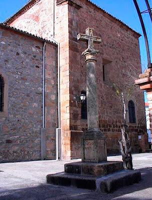Cruz del Cementerio. Parrillas. Toledo.