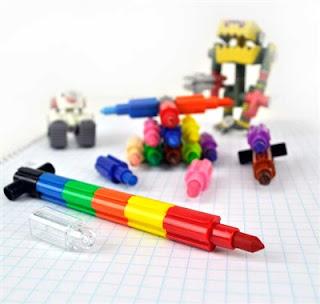 transformer puzzle crayons at CoolPencilCase.com