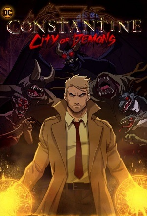 Constantine - Cidade dos Demônios - Legendado Desenhos Torrent Download capa