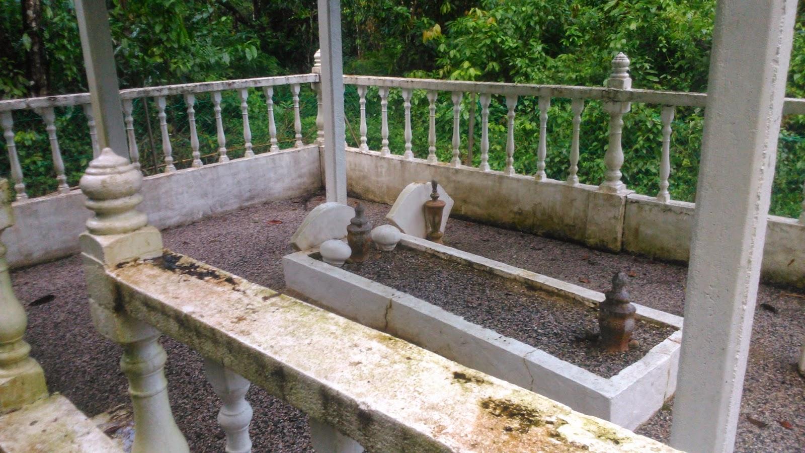 Makam Tok Gajah di Kg Pasir Nering Kuala Brang Hulu Terengganu