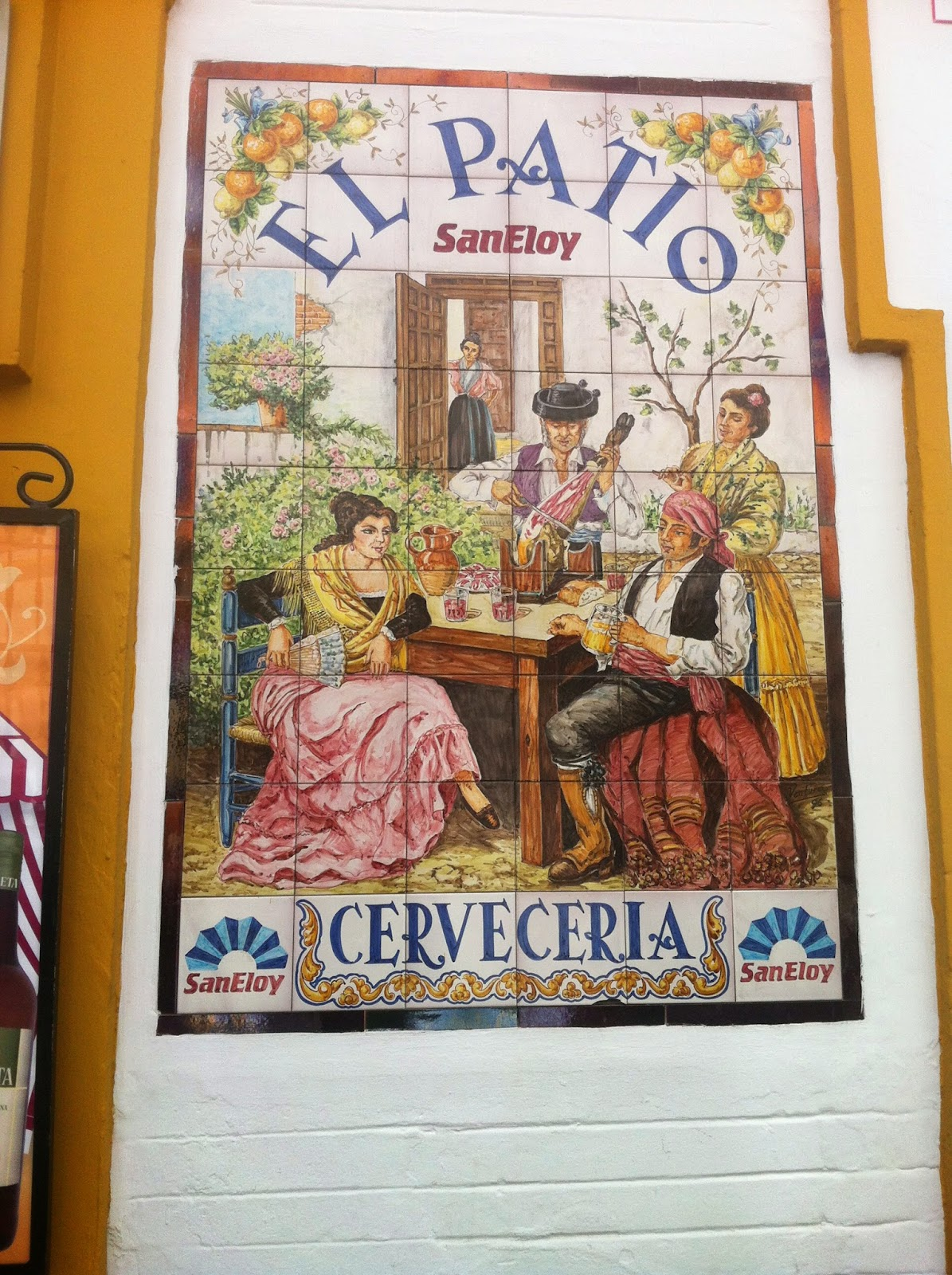 restaurant El patio Séville