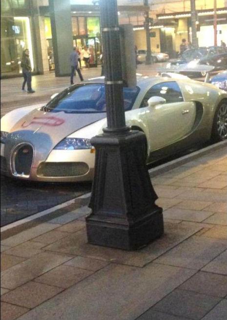 Teuerste auto der welt bugatti  Ein Penis Graffiti auf dem teuersten Auto der Welt | Bugatti ...