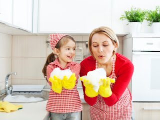 Doing Something Well - Parentunplugged - Stacy Snyder - Kids and Housecleaning
