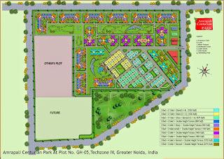 Amrapali Centurian Park :: Site Plan