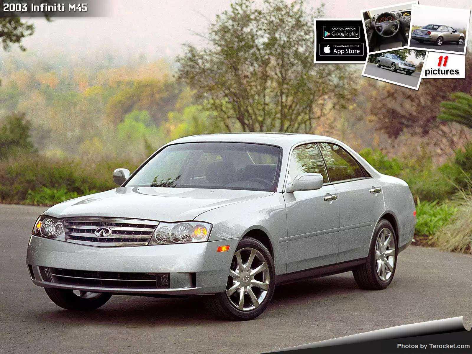 Hình ảnh xe ô tô Infiniti M45 2003 & nội ngoại thất
