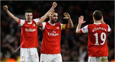 Prediksi Skor Arsenal vs Fulham 18 Januari 2014