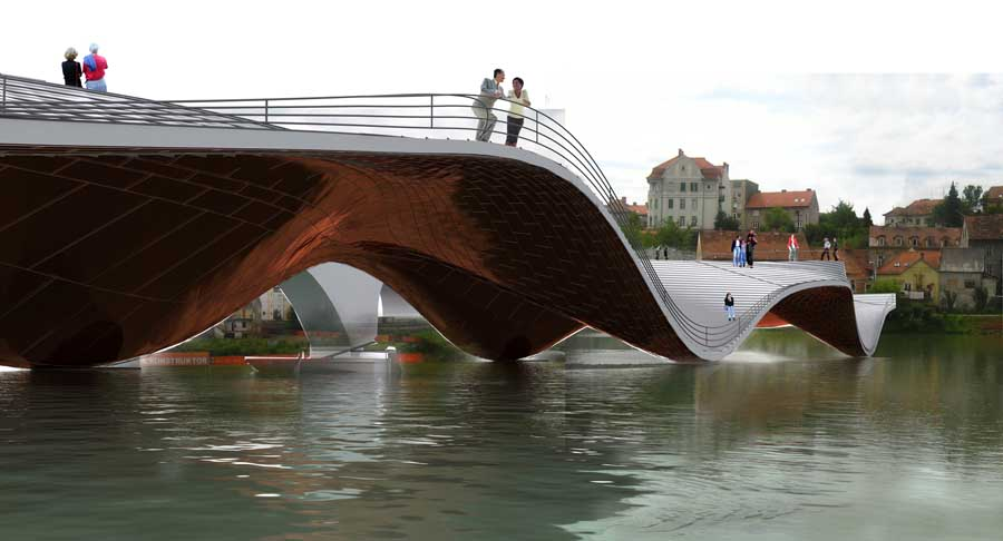 Architecture Post-it: 4 Futuristic Inhabitable Bridges