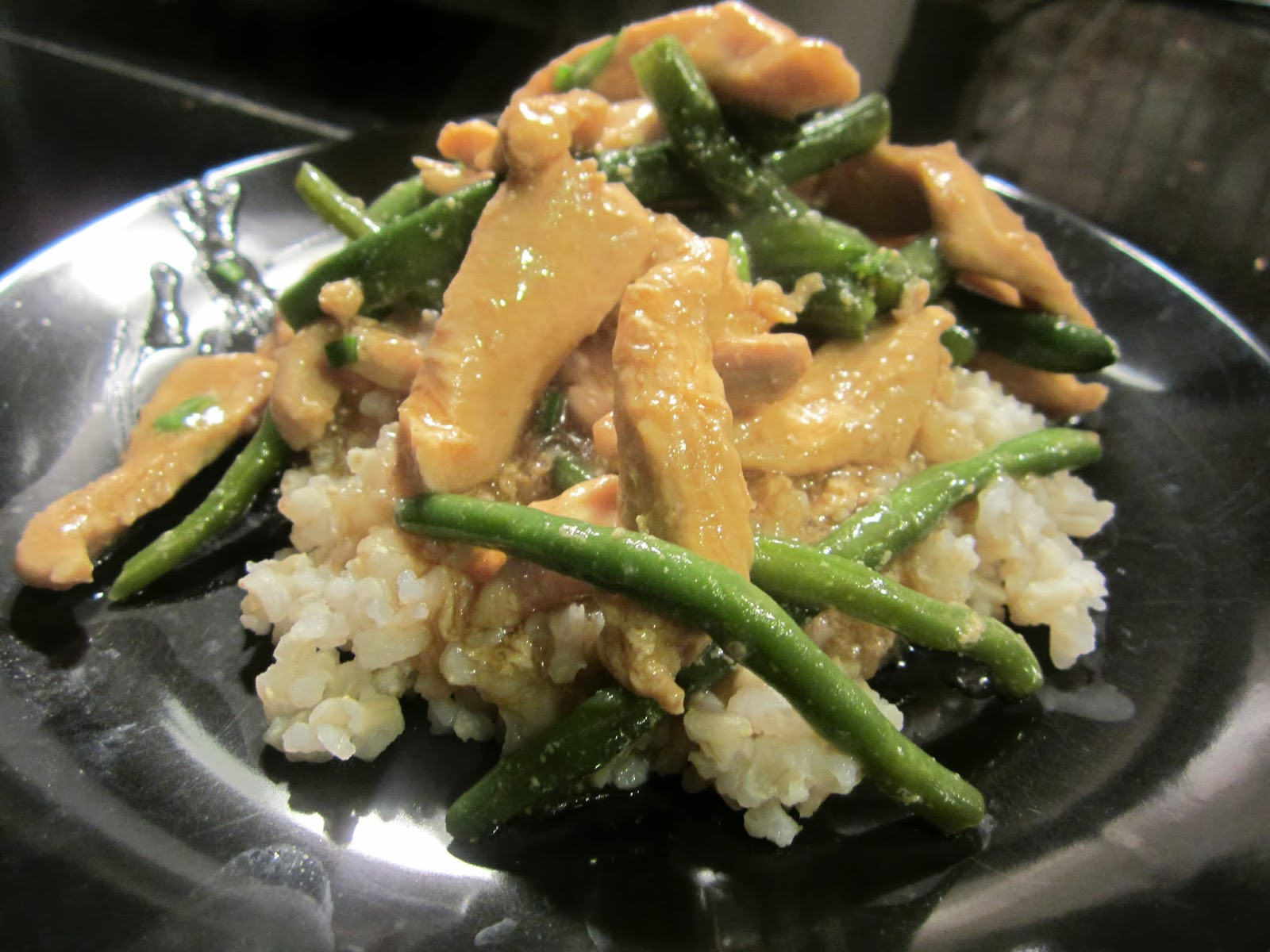 Going gluten free chinese chicken green beans chinese chicken green beans the first time i went gluten free one of the biggest things i lamented was chinese food i could still do it forumfinder Image collections