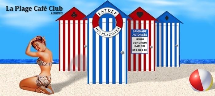 La Plage Café Club - Angers