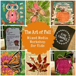 FALL MIXED MEDIA ART COURSE