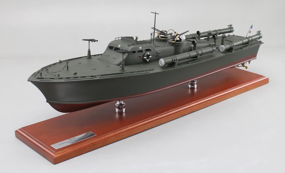 Motor Torpedo Boat Model | SD Model Makers