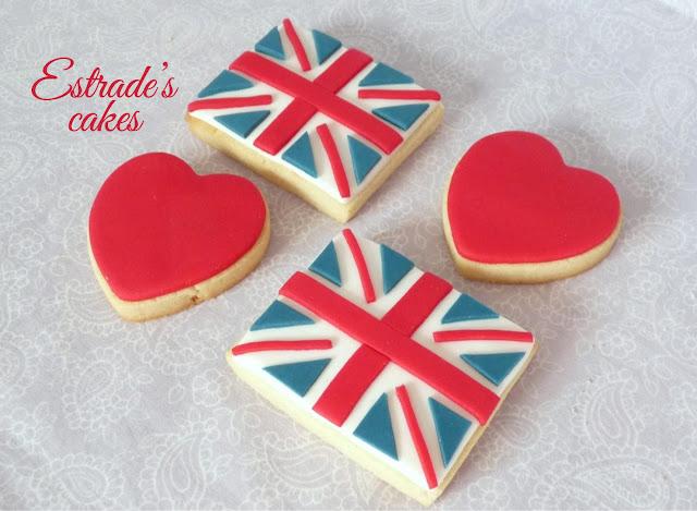 galletas de bandera de Gran Bretaña 3