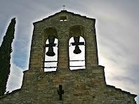 Campanar de l'església de Santa Maria de la Tossa. Autor: Carlos Albacete