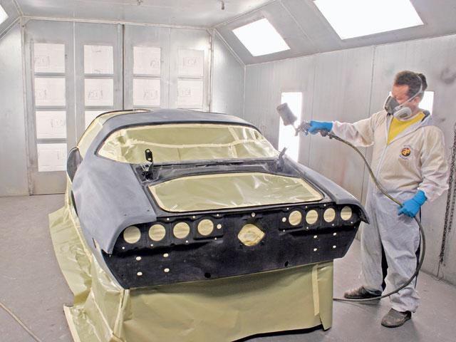 Melakukan pengecatan ulang belajar otodidak for Body paint auto