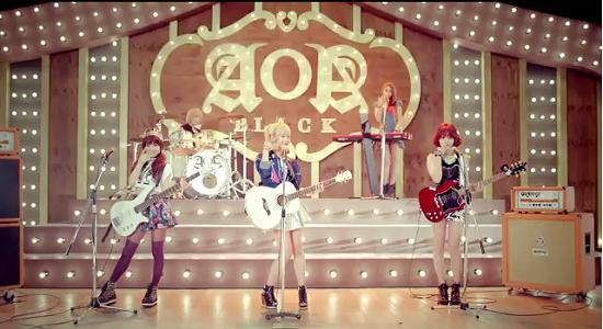 "News] Lagu FT.Island Hadir Dalam Teaser Terbaru Band AOA BLACK ""Moya ..."