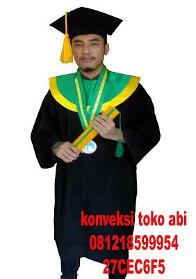 Pesan Toga Wisuda di Jakarta Barat: Kalideres, Kamal, Pegadungan, Semanan, Tegal Alur