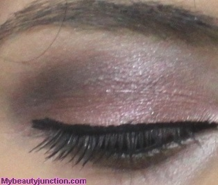 Rose and taupe EOTD with Urban Decay N@ked 3 eyeshadow palette