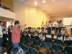 """El coro de la """"Gran Flauta"""""""