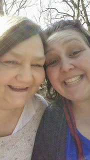 PippaD and her Mum