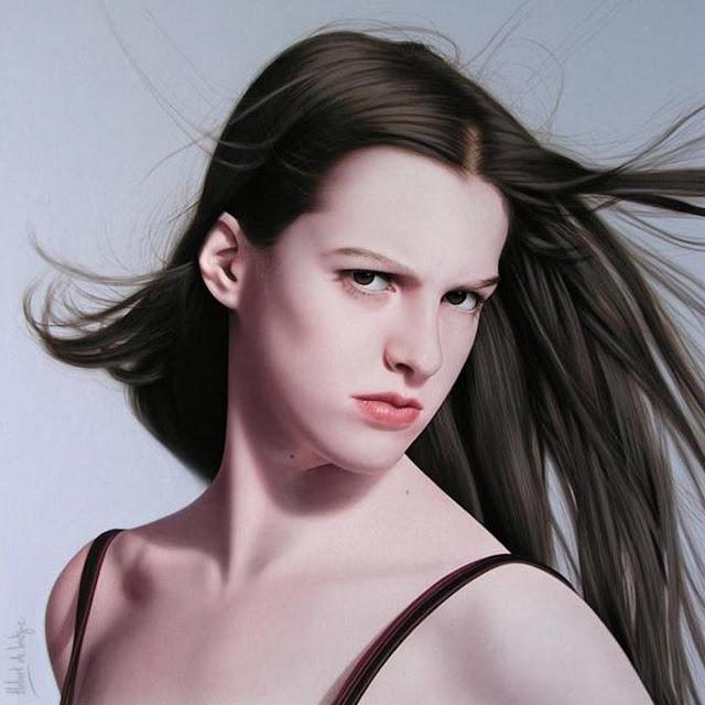 retratos-al-oleo-de-mujeres-bonitas