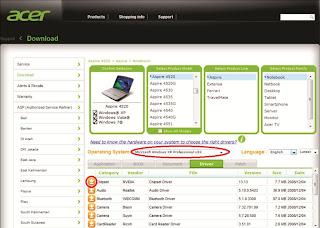 Download Driver acer netbook