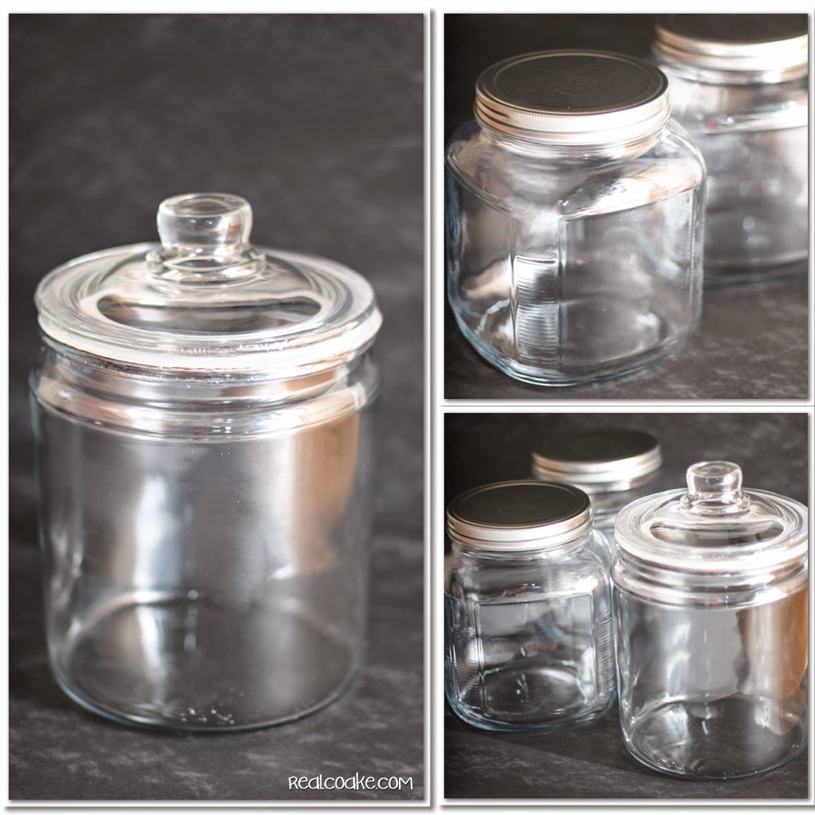 Candy Jar: Glass Etched Candy Jar