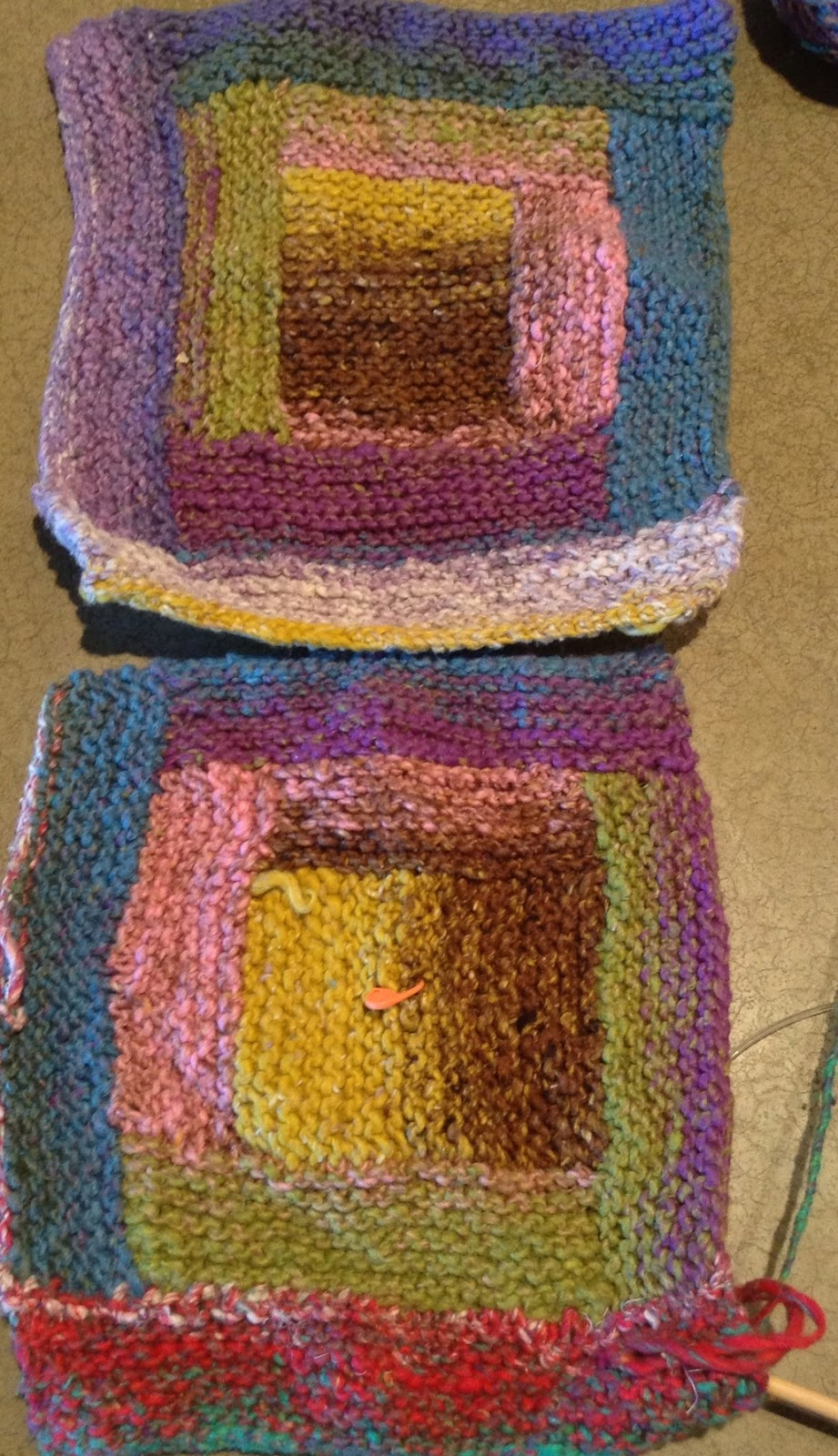 Stitch and Chat: Who decided a crocheted square is a \