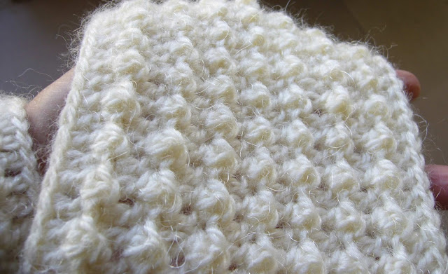 Crochet Stitches With Texture : Crochetkari: Crochet Textured Scarf