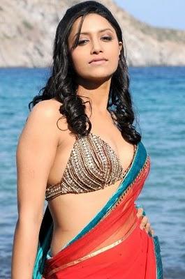 Telugu Actress Hot in Saree