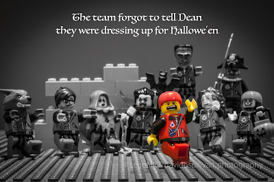 Lego Mountain Rescue Team. Halloween