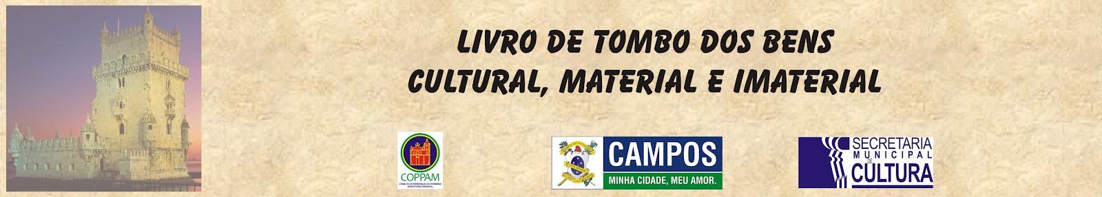 Livro de Tombo - Cultural e Imaterial