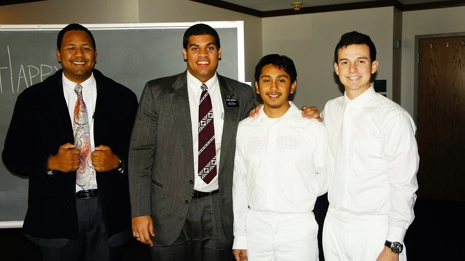 Elder Romero and Elder Anderson,  Elder Robison