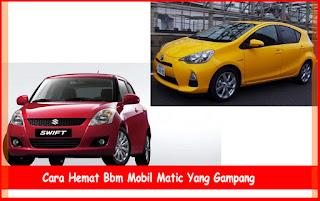 Cara Hemat Bbm Mobil Matic