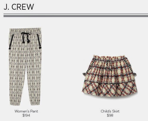 J. Crew for Born Free Collection