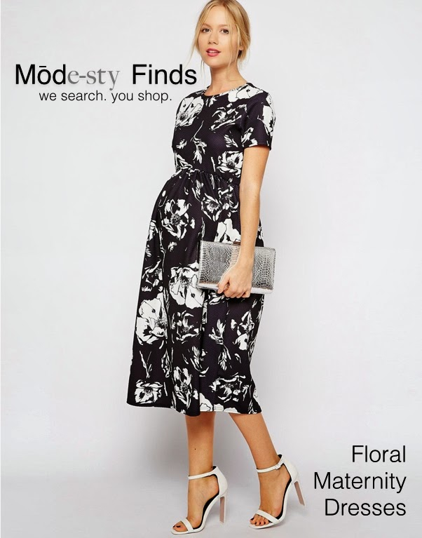 Modest maternity dress with sleeves | Mode-sty #nolayering ASOS tznius tzniut jewish orthodox muslim islamic pentecostal mormon lds evangelical christian apostolic mission clothes Jerusalem trip hijab fashion modest