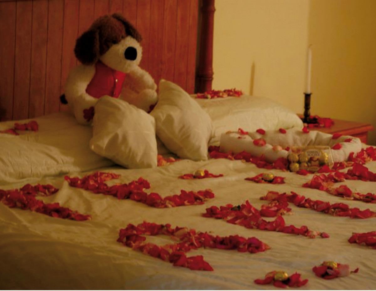 El amor de un angel for Decoracion de habitacion para una noche romantica