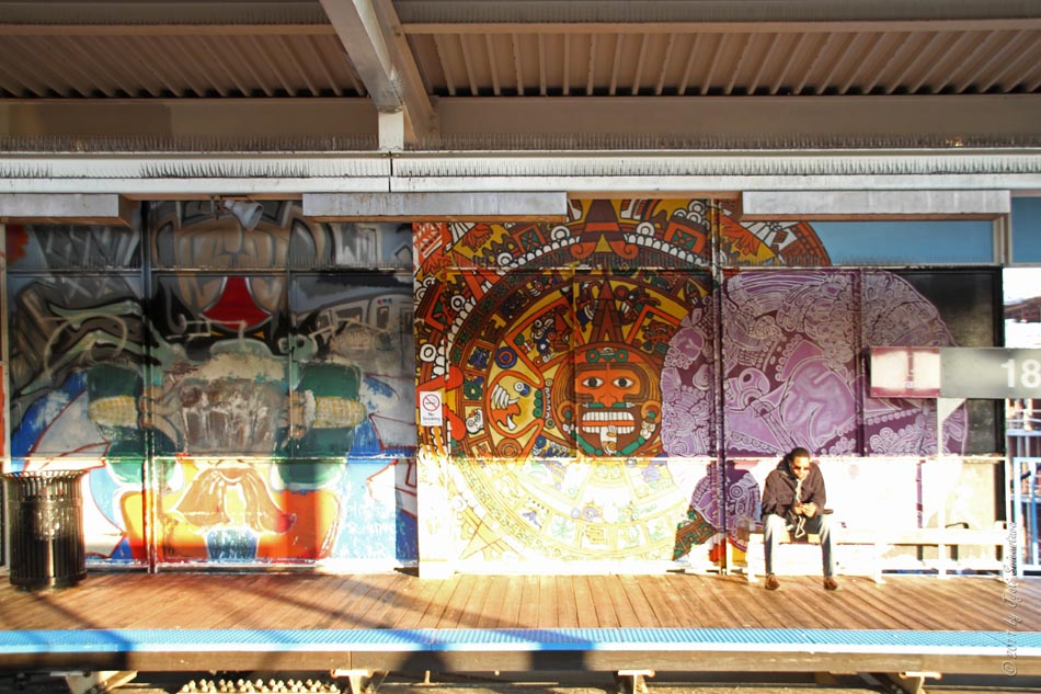 Public Art in Chicago: CTA Adopt-A-Station: 18th Street Station ...