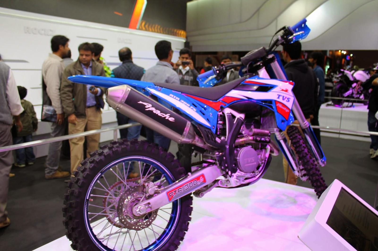 Upcoming New Best Bike TVS Apache RTR 300 FX 2015