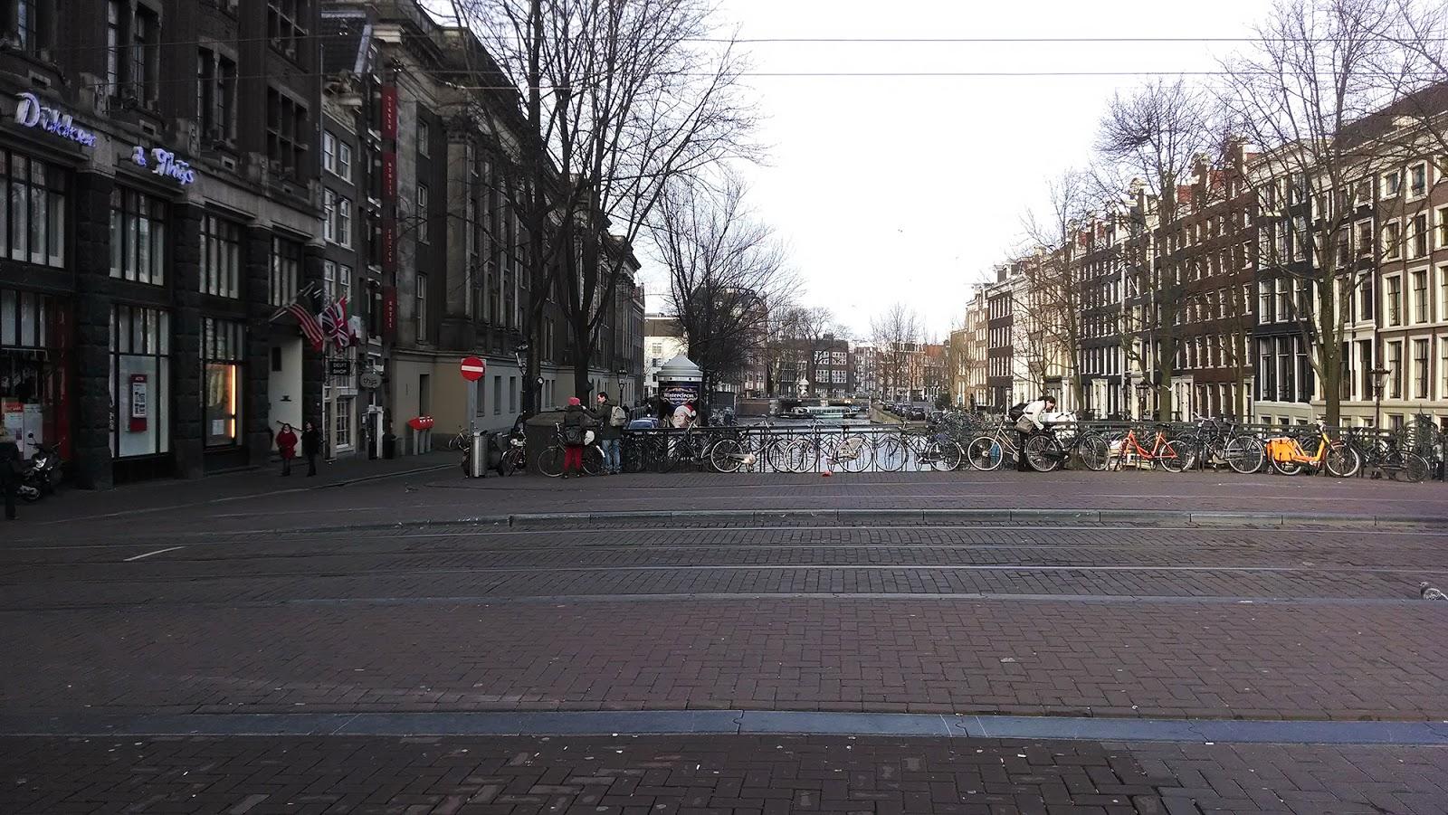 Амстердам+зима
