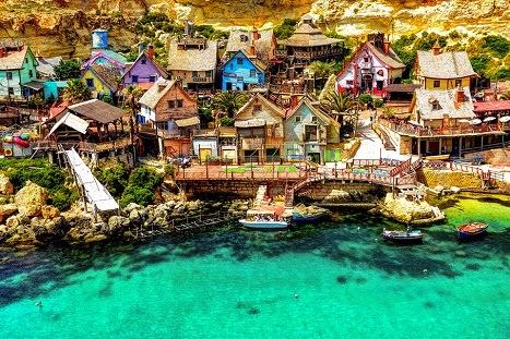 Popeye Village - Το χωριό του Ποπάυ στην Μάλτα!