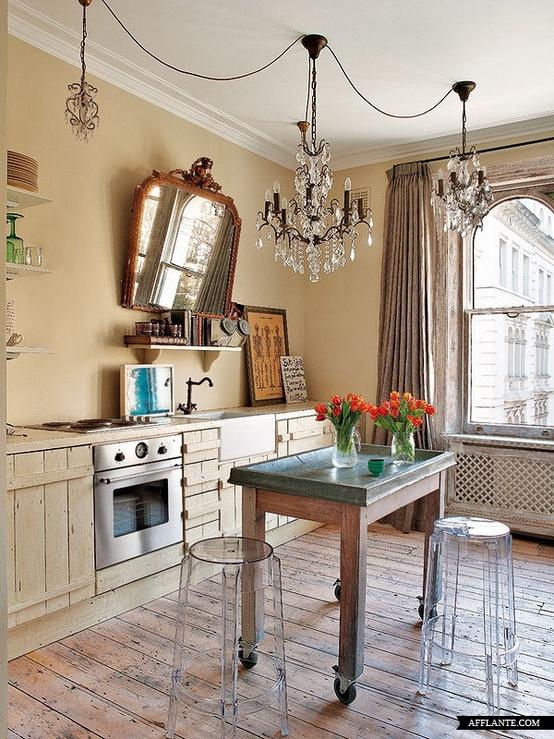 Diseño de Cocina : Piso en Notting Hill